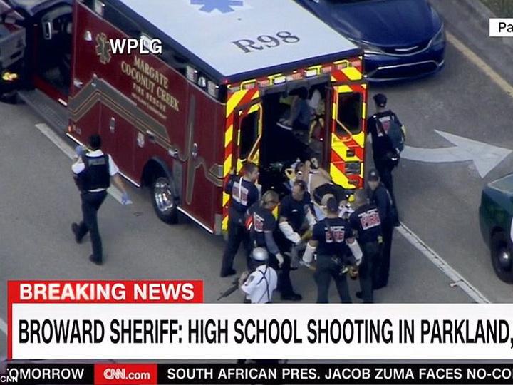 Число погибших при стрельбе в школе во Флориде возросло до 17 человек - ФОТО - ВИДЕО - ОБНОВЛЕНО