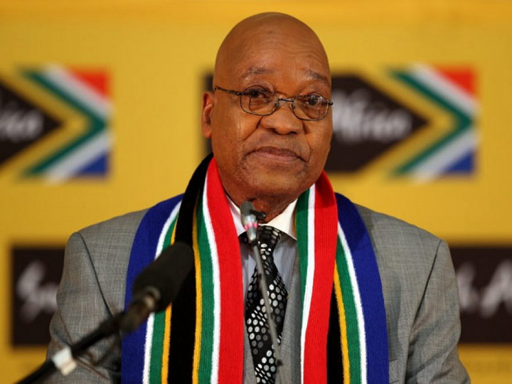 Президент ЮАР объявил о своей отставке