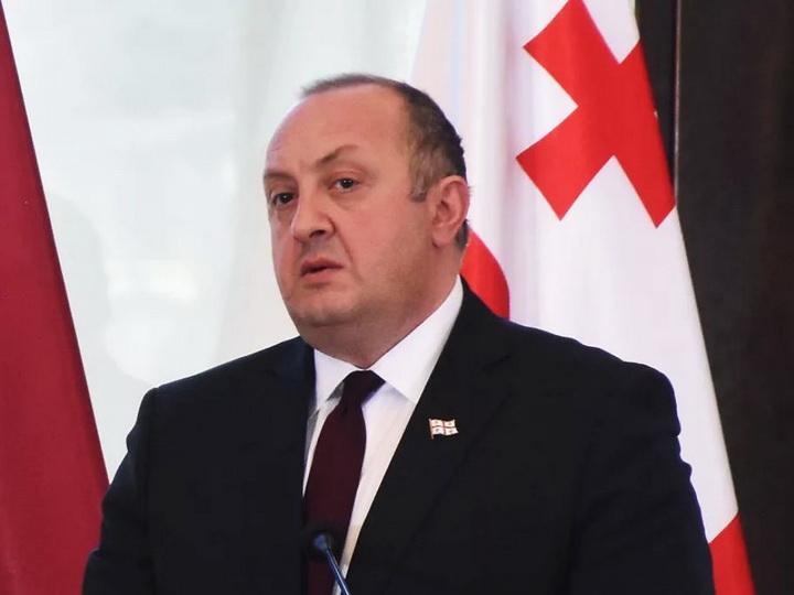 Президент Грузии не собирается помиловать Саакашвили