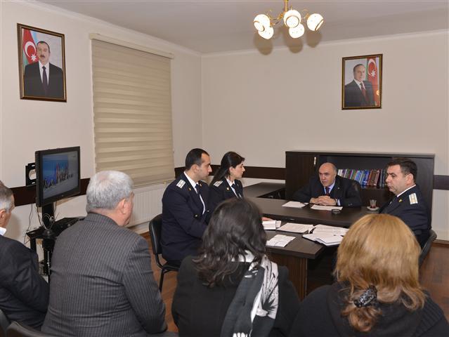 Закир Гаралов принял граждан в Имишли