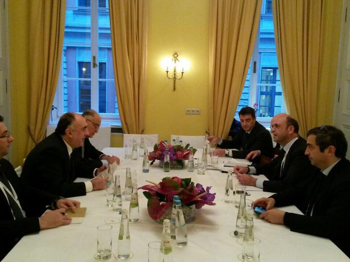 В рамках Мюнхенской конференции безопасности Эльмар Мамедъяров встретился с итальянским министром - ФОТО