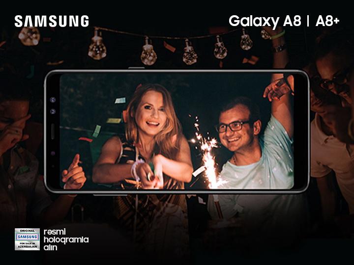Samsung Galaxy A8 и A8+ - в два раза больше возможностей с Dual Selfie камерой
