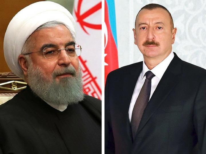Президент Ильхам Алиев выразил соболезнования иранскому коллеге в связи с крушением самолета