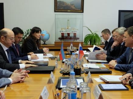 В Москве прошла встреча министров энергетики РФ и Азербайджана
