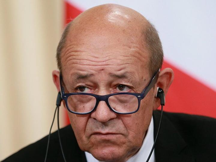 Глава МИД Франции посетит Россию и Иран, чтобы обсудить ситуацию в Сирии