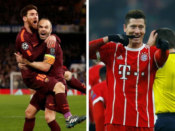 1/8 финала Лиги чемпионов:«Челси»сыграл вничью с «Барселоной», «Бавария» разгромила «Бешикташ» - ФОТО - ВИДЕО