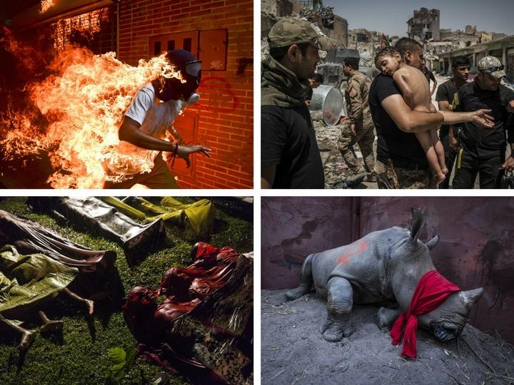 Страх и борьба за жизнь: номинанты World Press Photo 2018 - ФОТО