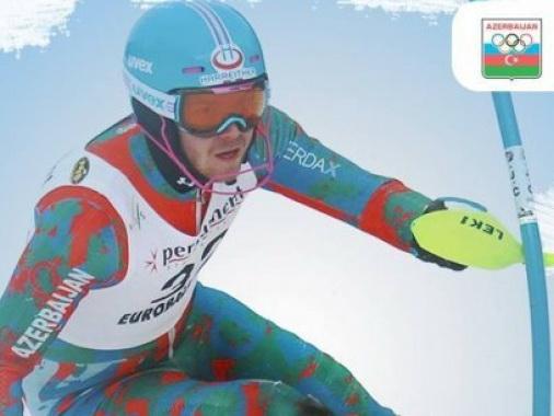 Единственный представитель Азербайджана на Олимпиаде не смог финишировать