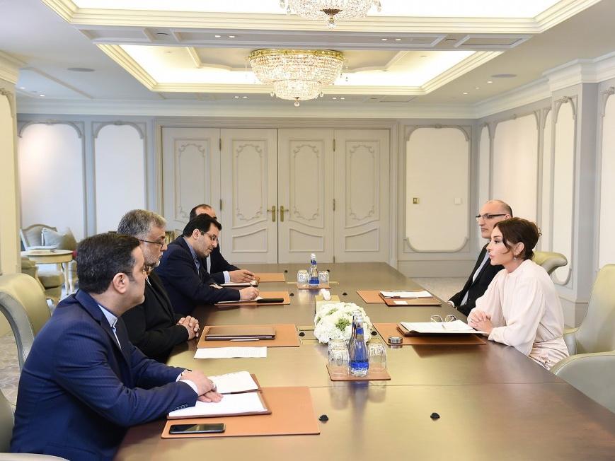 Мехрибан Алиева встретилась с председателем Организации культуры и исламских связей Ирана – ФОТО