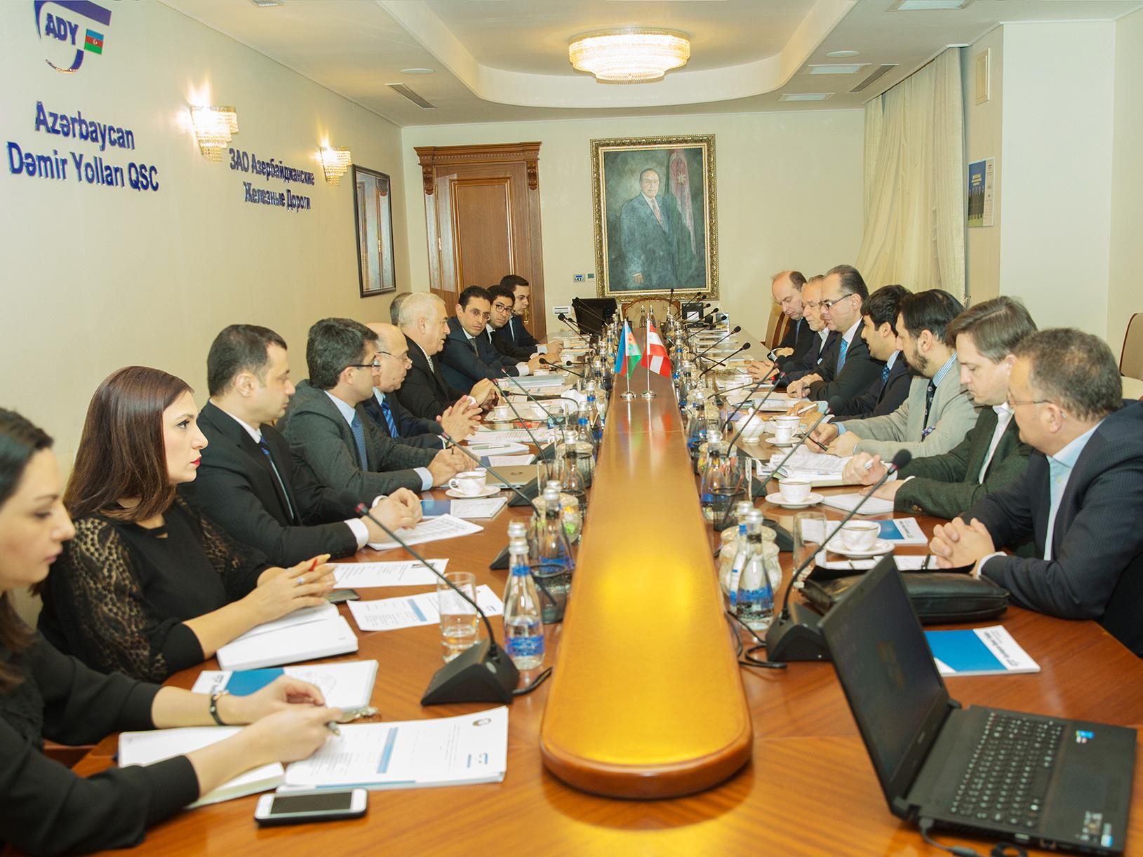 Австрия интересуется инфраструктурными проектами в Азербайджане