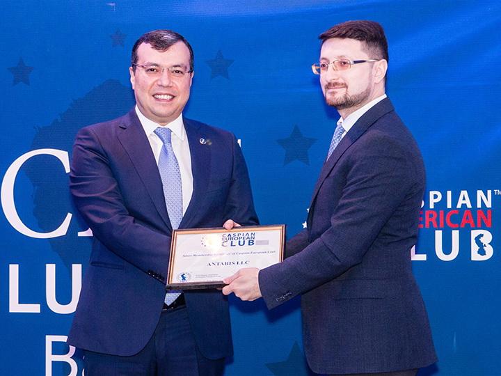 В Баку прошел 11-й СЕО Lunch с участием «Антарис» - лидера рынка качественных офисных принадлежностей – ФОТО