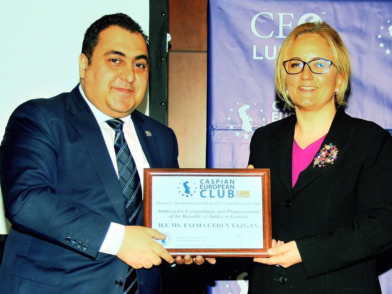 Состоялся четвертый CEO Lunch Tbilisi