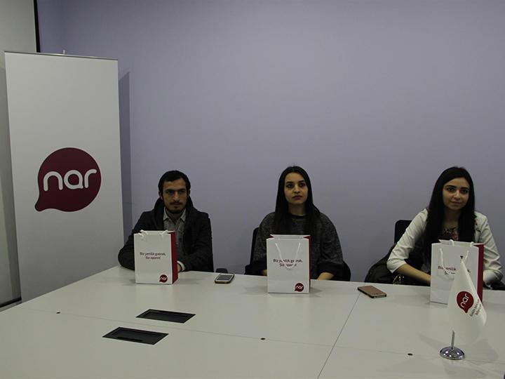 Nar наградил лучших студентов Азербайджанского технического университета