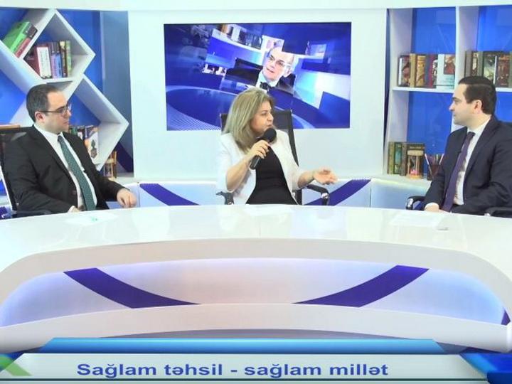 """Təməl verilişində """"Sağlam təhsil - sağlam millət"""" layihəsi müzakirə olunub - VİDEO"""