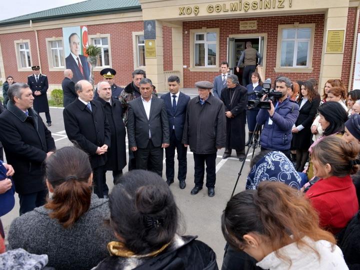 Министр юстиции принял граждан в Джоджуг Мерджанлы - ФОТО