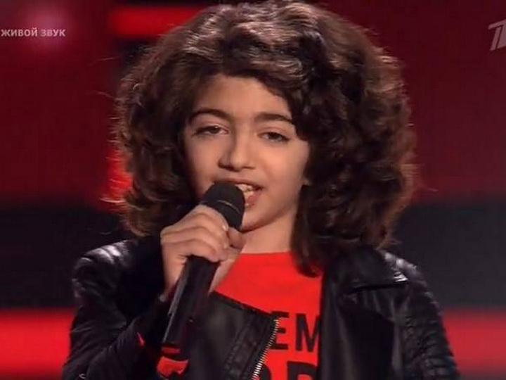 В шоу «Голос. Дети» армянин спел песню Рашида Бейбутова «Я встретил девушку» - ВИДЕО