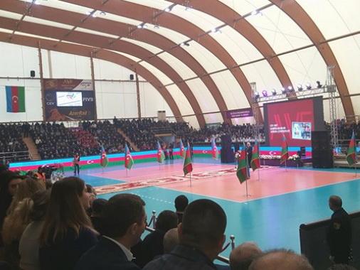 Федерация волейбола Азербайджана провела отчетную конференцию