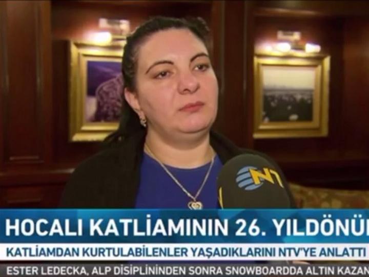 На турецких каналах NTV и «Ülke TV» транслировались репортажи в связи с Ходжалинским геноцидом - ФОТО