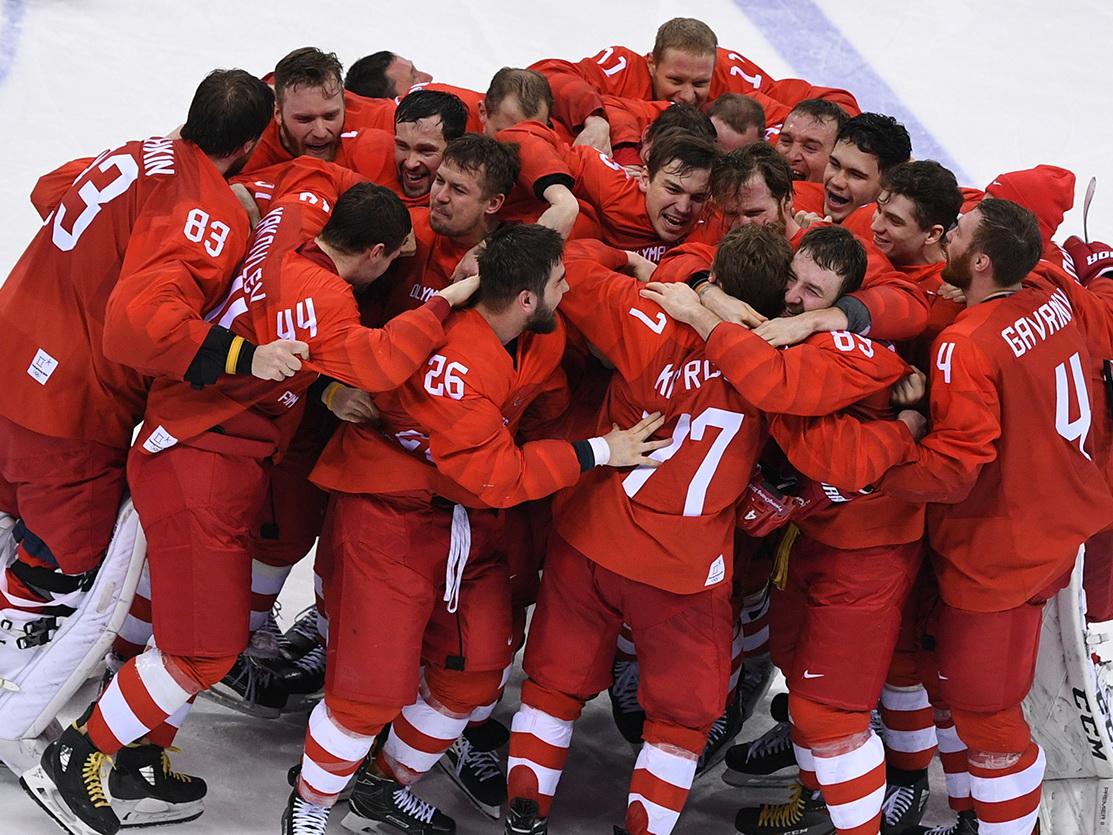 Сборная России по хоккею впервые за 26 лет выиграла Олимпиаду - ФОТО