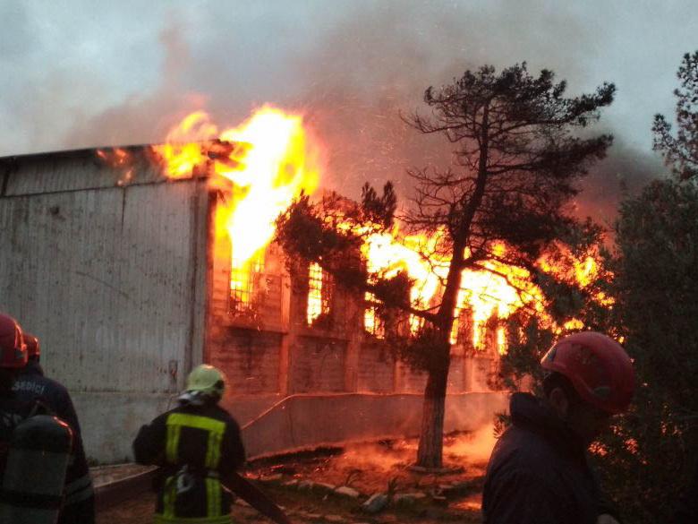 Пожар в бакинском Наркоцентре был совершен умышленно, подозреваемый арестован – ФОТО - ДОПОЛНЕНО