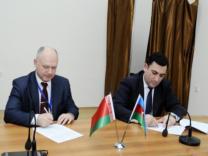 ADNSU ilə Belarusun Qomel Texniki Universiteti arasında əməkdaşlıq müqaviləsi imzalanıb – FOTO