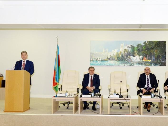 В НАНА проходит международный научный симпозиум на тему «Наука мугама в Азербайджане: реалии и перспективы» - ФОТО