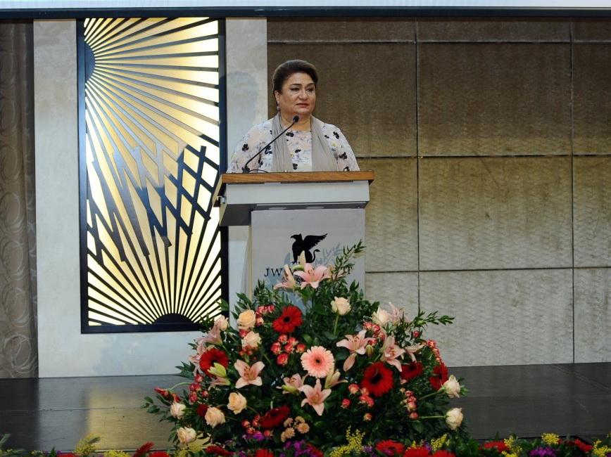 Хиджран Гусейнова: Обеспечение достойного места женщин в обществе – один из приоритетов политики нашего государства - ФОТО