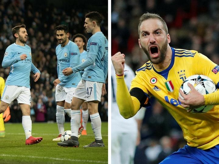 «Манчестер Сити» и «Ювентус» вышли в 1/4 финала Лиги чемпионов - ФОТО - ВИДЕО