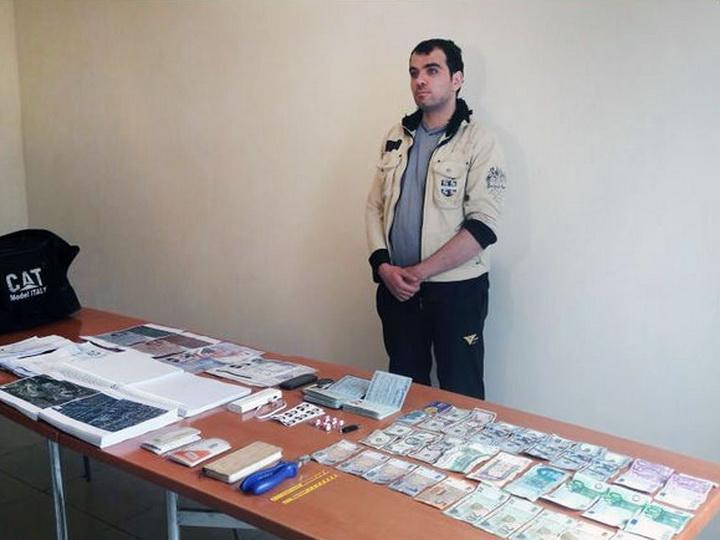 Задержан нарушитель госграницы Азербайджана, имевший при себе религиозную литературу и карту страны – ФОТО