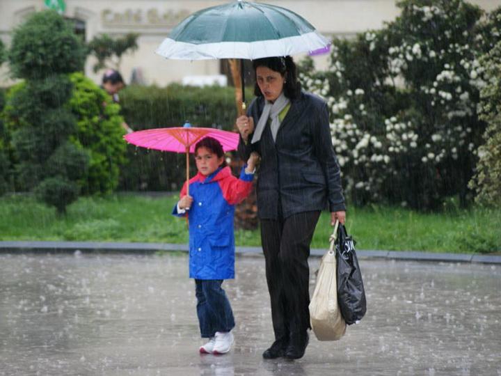 В пятницу в Баку и на Абшероне ожидается дождь