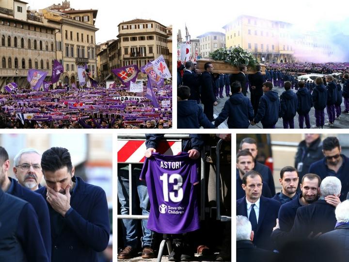 Футбольная Италия простилась с Давиде Астори. Как это было – ФОТО – ВИДЕО