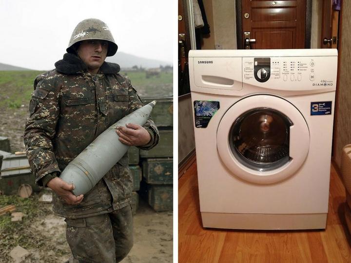 В Армении собирают деньги на покупку стиральных машин для армии