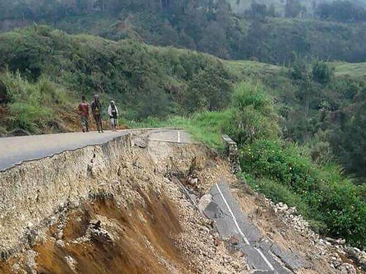 У побережья Папуа-Новой Гвинеи произошло землетрясение магнитудой 7,0