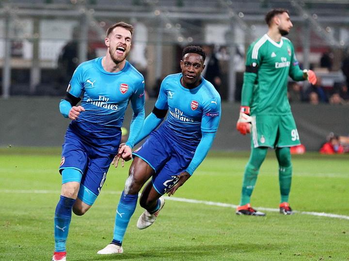 «Арсенал» уверенно обыграл «Милан» в первом матче 1/8 финала ЛЕ – ФОТО – ВИДЕО