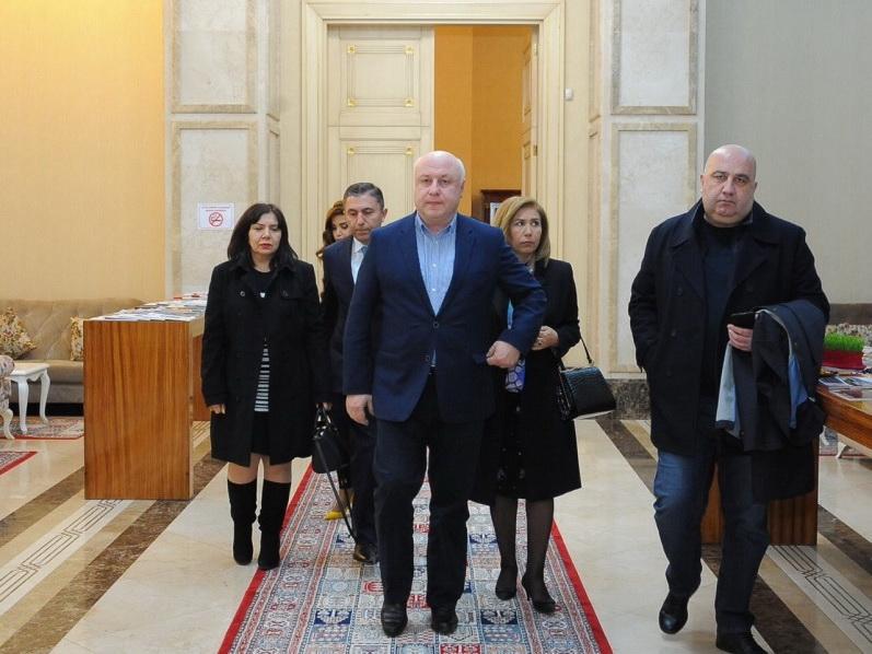 Председатель Парламентской Ассамблеи ОБСЕ прибыл с официальным визитом в Азербайджан – ФОТО