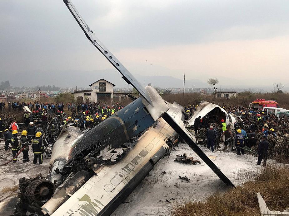 Стала известна причина крушения самолета в Катманду - ФОТО - ОБНОВЛЕНО