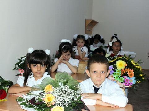 В Сумгайыте, Гяндже и Абшеронском районе начался прием детей в первый класс