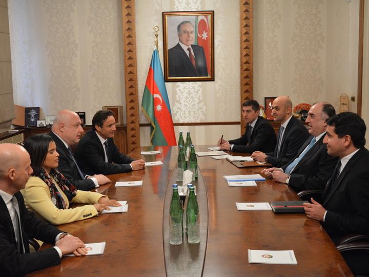 Глава МИД Азербайджана встретился с председателем ПА ОБСЕ