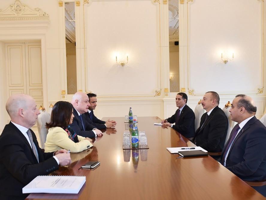 Президент Азербайджана принял председателя ПА ОБСЕ