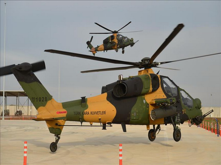 Турция презентовала ударный вертолет - ФОТО