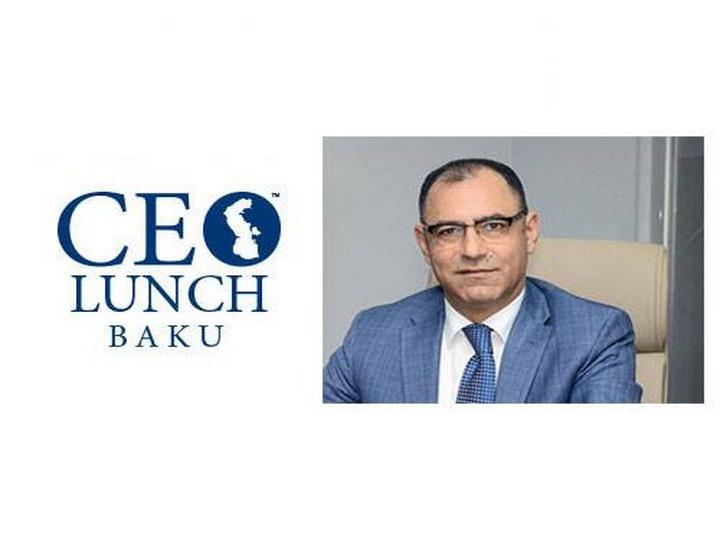 Исполнительный директор ПНФР станет гостем CEO Lunch Baku