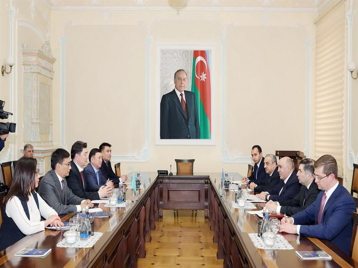 Закир Гаралов встретился с делегацией прокуратуры Казахстана - ФОТО
