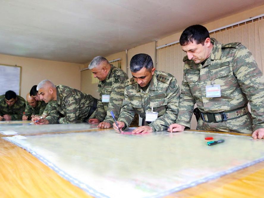 В рамках учений в командных пунктах управления организована боевая деятельность – ФОТО - ВИДЕО