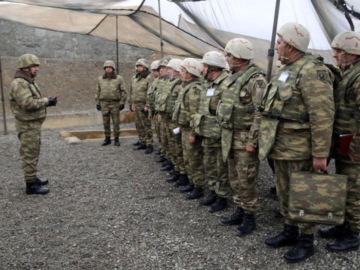 В ходе учений азербайджанской армии проведена рекогносцировка местности – ФОТО – ВИДЕО