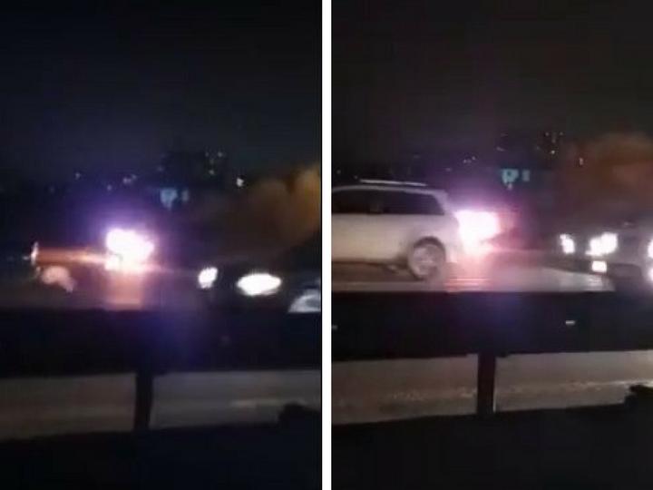 Около метростанции «Кероглу» горит автомобиль – ВИДЕО