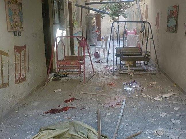ВВС Асада разбомбили ясли в Идлибе - ФОТО - ВИДЕО
