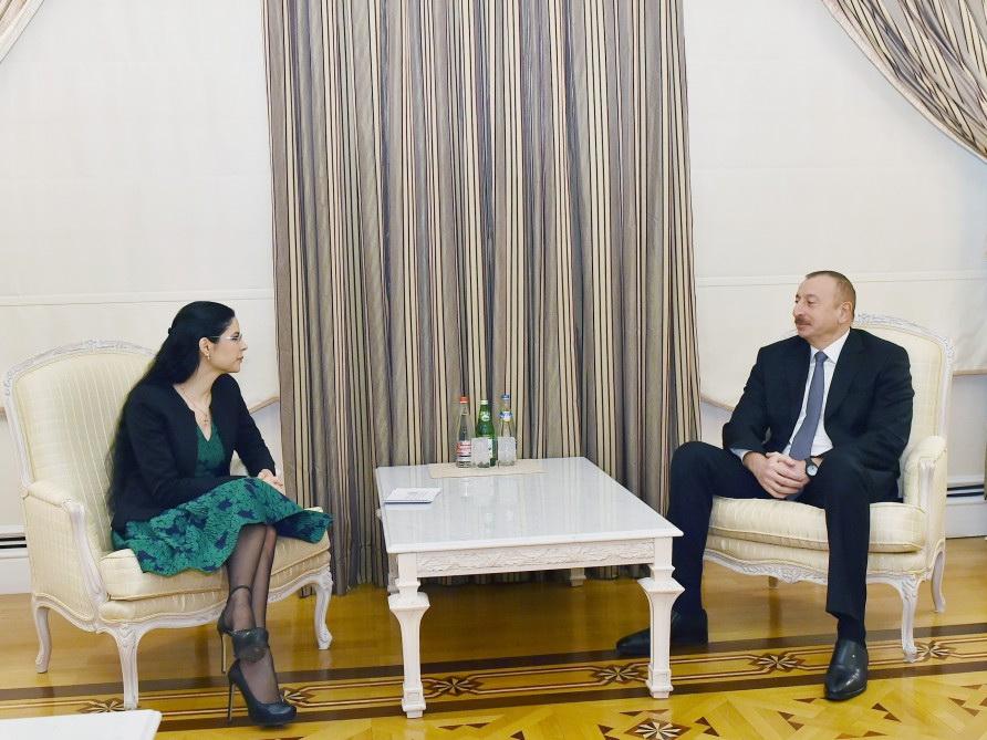 Президент Ильхам Алиев принял заместителя премьер-министра Румынии