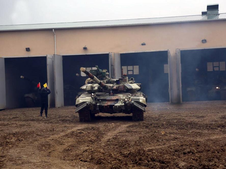 Привлеченные к учениям танковые подразделения выполняют поставленные задачи – ФОТО - ВИДЕО