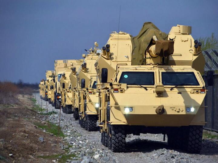 Вооружение и военная техника ракетных и артиллерийских войск выведены на огневые позиции –ВИДЕО - ФОТО