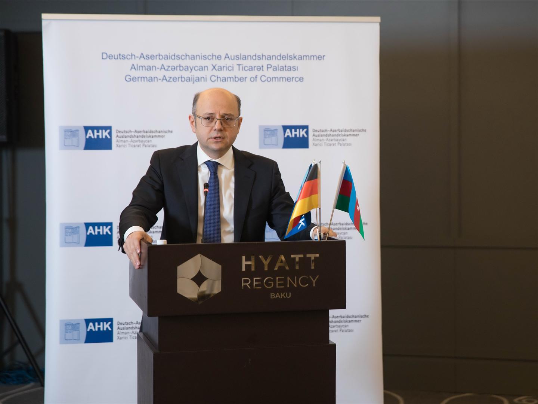 Глава Минэнерго принял участие в заседании Германо-азербайджанской торговой палаты